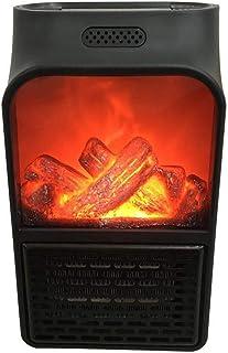 XYXZ Ventilador De Calefacción Mini Enchufe Eléctrico De Pared Calentador De Llama Calentador De Aire PTC Estufa De Calefa...