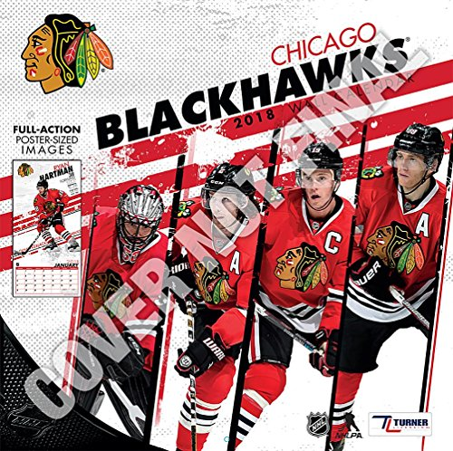 Chicago Blackhawks 2019 12x12 Team Wall Calendar