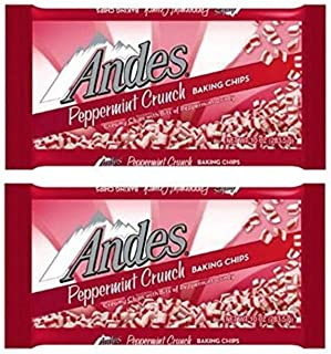 Andes Peppermint Crunch Baking Chips 10oz - 2 Unit Pack