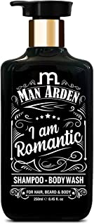 Man Arden I Am Romantic Shampoo + Body Wash, No Sulphate, No Paraben, 250 ml (MNARDN384)
