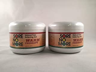 2 pack - Sore No More - Heat Therapy - Pain Reliever Gel