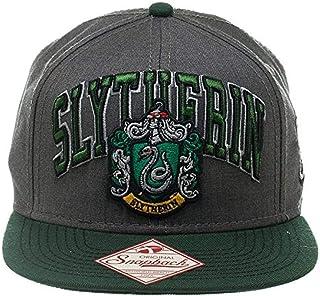 Official Harry Potter Slytherin Snapback Cap | Slytherine Crest and Logo Design Hat