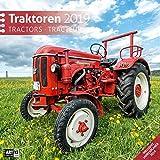 Traktoren 2019, Wandkalender / Broschürenkalender im Hochformat (aufgeklappt 30x60 cm) - Geschenk-Kalender mit Monatskalendarium zum Eintragen