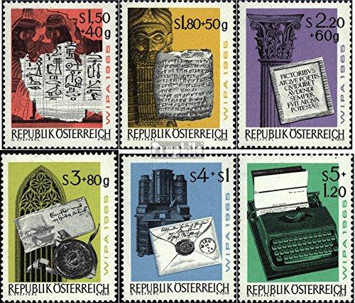 österrike 1184-1189 (fullständigt utgåva) 1965 WIPA 65 (Frimärken för samlare)