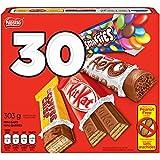 nestlé mini halloween assorted chocolate & candy - kitkat, coffee crisp, aero, smarties - 303g