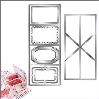 Twist Pop-Up Cutting Dies Make Beautiful Twist and Pop Cards, Dies Scrapbooking Metal Cutting Die for DIY Embossing Cards ...