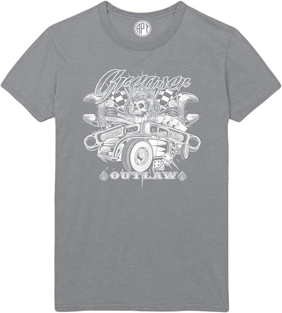 Greaser Outlaw Printed T-Shirt