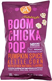 Angie's Holidrizzle, Pumpkin Spice, Flavored Popcorn, 4.5 Ounce (Pack of 3)