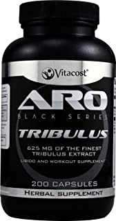 ARO-Vitacost Black Series Tribulus Extract - 625 mg - 200 Capsules