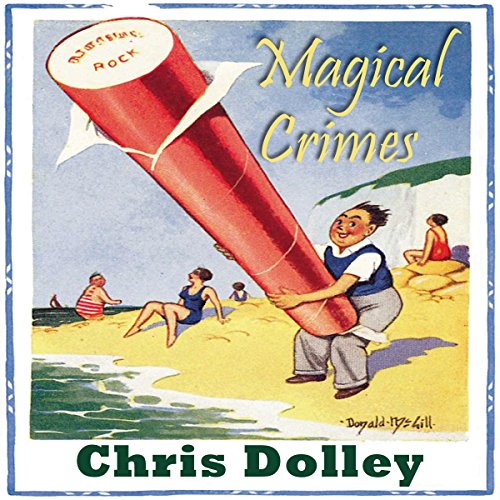 Magical Crimes audiobook cover art