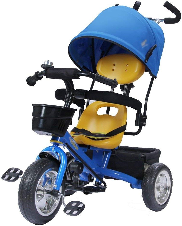 Envio gratis en todas las ordenes Hhoro Bicicleta de Triciclo para Niños de 1 a a a 4 años Cocherito de bebé Cocherito de Bicicleta para Niños Trike Kids 3 Ruedas (Color  Rojo) (Color   Azul, tamaño   -)  a la venta