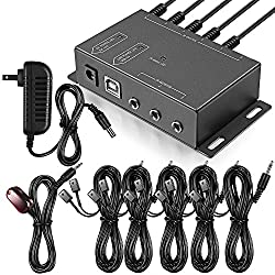 cheap Infrared Repeater System IR Repeater Kit Controls up to 10 devices Hidden IR System Infrared…