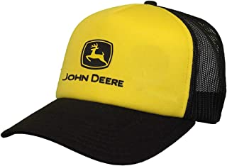 Foam Trucker Mesh Hat W/Black Logo, Yellow, Yellow/Black,...