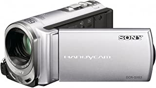 Sony DCR-SX63 Flash memory Handycam Camcorder (Discontinued by Manufacturer)
