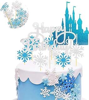 Neige Princesse Fête D/'Anniversaire GAMME-Fille Glace Flocon de neige Vaisselle /& Décorations