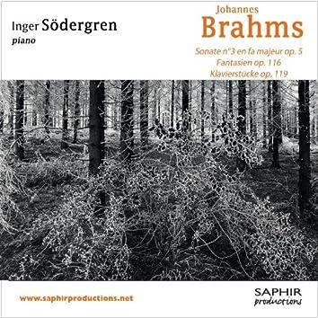 Sonate n°3 / Fantaisies op. 116