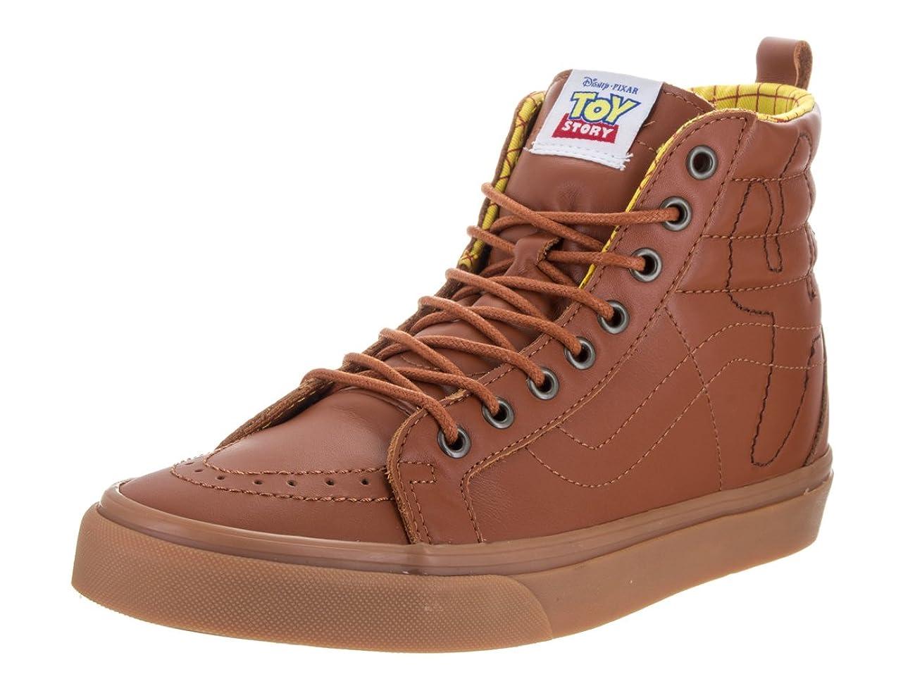 VANS SK8-Hi Reissue PT Disney-Pixar Toy Story Leather Woody Sneaker VN0A2XS3M4Z Unisex Shoes