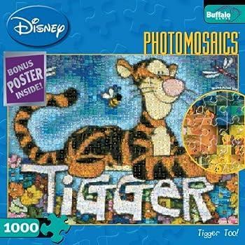 Buffalo Games Disney Photomosaic  Tigger TOO