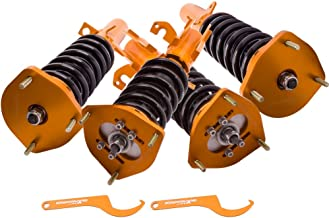 For Toyota Corolla E90 E100 E110 AE92-AE111 88-99 Coilovers kit - Adjustable Height & Camber Plates Shocks Suspensions Struts