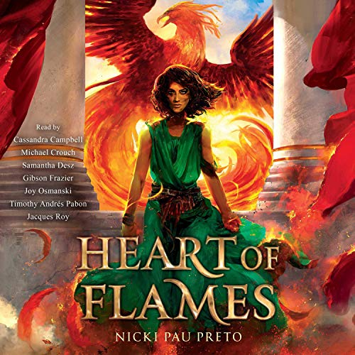 Heart of Flames audiobook cover art