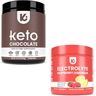 KEPPI Exogenous Ketones and Electrolytes Bundle - Electrolytes Powder and Exogenous Ketones Supplement Powder