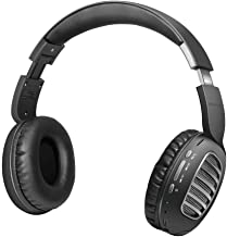 Promate Wireless Headphones, Over-Ear HD Stereo Bluetooth Foldable Headphones with Built-in Mic, Passive Noise Cancellatio...