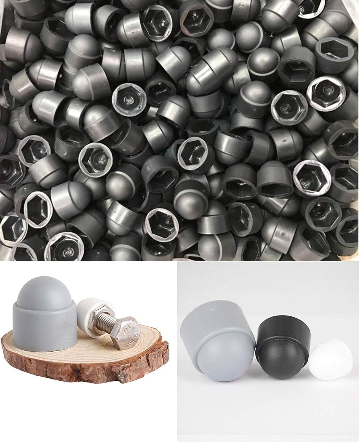 Nuts M14 M16 M18 M20 M22 M24 m27 M30 M36 Steel Nut hex Bolt Cover Cap Plastic pp Protector Corrosion dust Proof Drive Hole Plug - (Size: M27X41, Color: White)