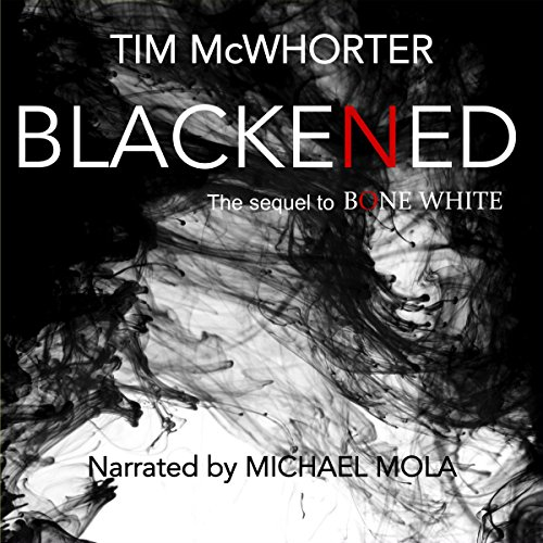 Blackened audiobook cover art