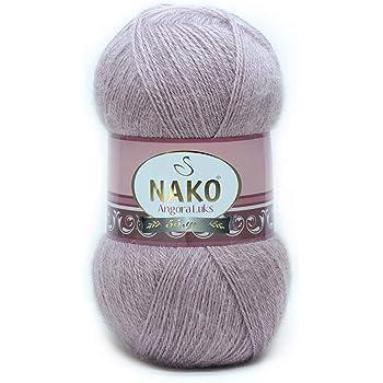 Hobbymix Nako No 256 Pelote de Laine /à Tricoter avec Fil de Coton 100 g