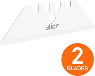 Slice 10524 Utility Blade, Never Rusts, Lasts 11x Longer Than Steel, Finger-Friendly Edge, Safer Choice, 2