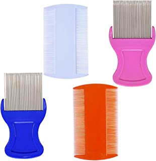 Head Hair Comb Double Sided Removal Dandruff Comb