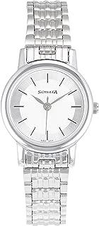 Sonata Analog White Dial Women's Watch -NJ8976SM01W