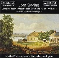 シベリウス:ヴァイオリンとピアノのための初期作品集 Vol 1