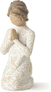 Willow Tree Prayer of Peace, sculpted hand-painted figure