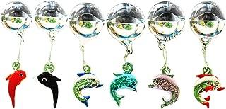 OMEM 6 Pack Aquarium Float Ball Decoration,Colorful Luminous Crabs,Whale,Dolphin,Fish Tank Micro Landscape Ornament