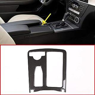 Sistema fibra carbono consola central coche plástico ABS Sistema fibra carbono para LHD E Class W212
