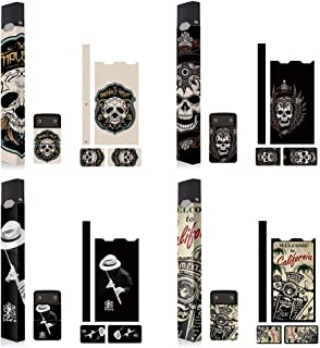 4 Pack – BlueXBerry – Original Juul Skin Decal – Device is Not Included – Protective Sticker – High Quality Product – Strong Adhesive Wrap