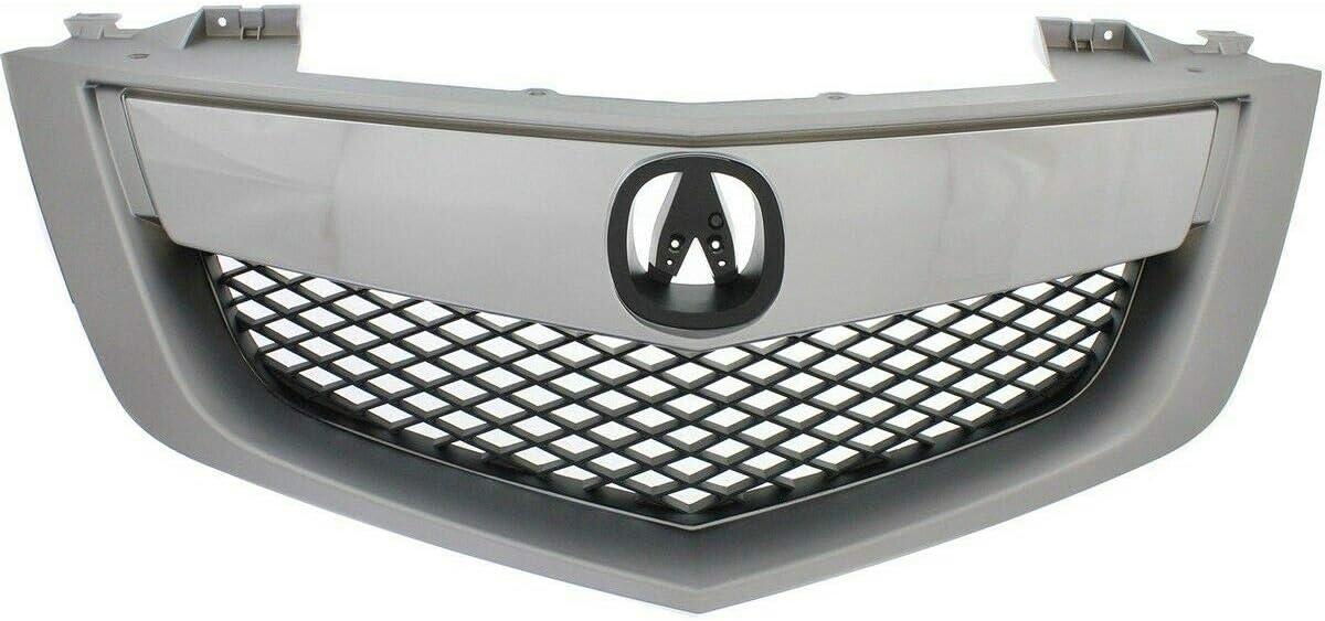 Large discharge sale JUN Grille Assembly Compatible with Over item handling ☆ 2010-13 Base MDX Upper w Bar