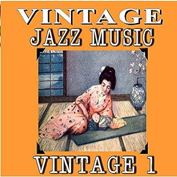 Vintage Jazz Music, Vintage. 1 (Special Edition)