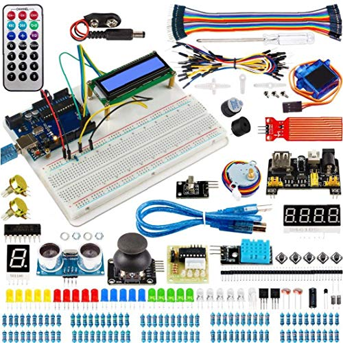 Electronic Element Kit for Arduino Projects Super Starter Circuit BreadBorad Kit for Electrical appliances