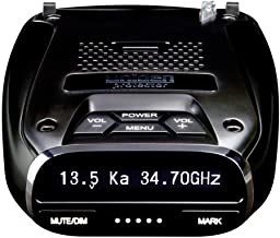 Uniden DFR7 Super Long Range Wide Band Laser/Radar Detector, Built-in GPS w/Mute Memory, Voice Alerts, Red Light & Speed C...