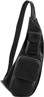 Tuscany Leather Monospalla in pelle Nero