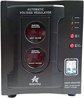 Norstar DAVR15000 110/120 to 220/240 or 220/240 to 110/120 Step UP and Down Voltage transformer and Automatic Voltage Regulator