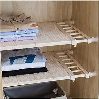 APSOONSELL Adjustable Shelf Closet Storage Rack Organizer, Expandable Closet Shelf Space Saver Racks for Kitchen Cupboard Wardrobe Bookcase