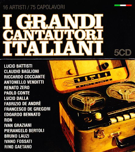 I Grandi Cantautori Italiani
