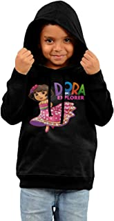 Dora The Explorer Stylish 100% Cotton Hooded Sweat Shirts For Toddler Children