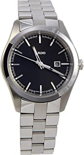 Rado Hyperchrome S R32110153 Black Dial Stainless Steel Quartz Women's Watch