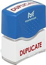 Duplicate Stamp – MasterMark Premium Pre-Inked Office Stamp