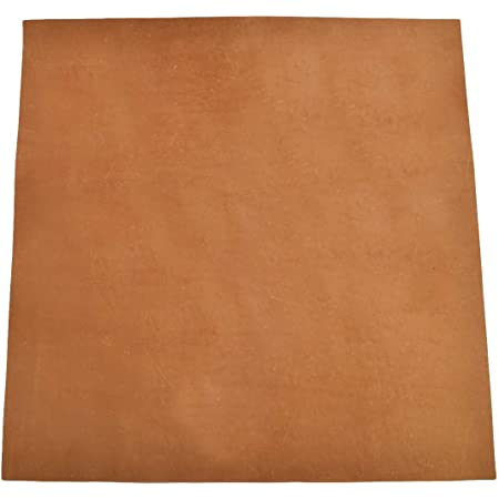 for Crafts // Tooling // Hobby Workshop 5mm by Hide /& Drink :: Bourbon Brown Heavy Weight Thick Leather Square 12x12