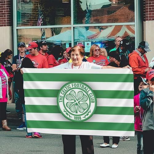 Voglawear Scotland Premiership Celtic Fc Flag Flag 3x5 Feet Garden Flag Outdoor Decoration Banner
